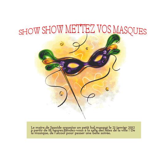 Le masque pour la personne du jaune et lhuile dolive pour