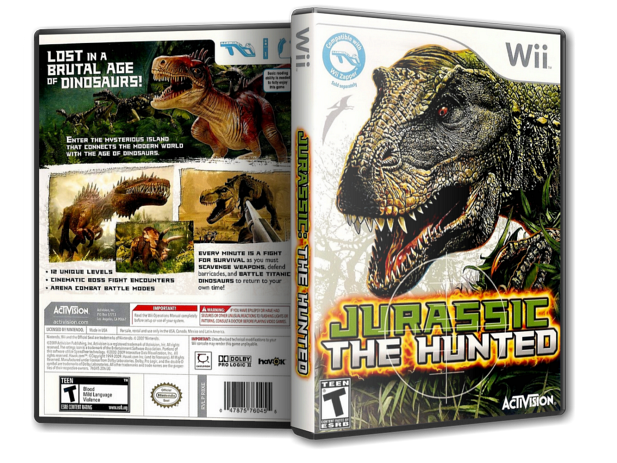 [Wii] Jurassic: The Hunted [NTSC]