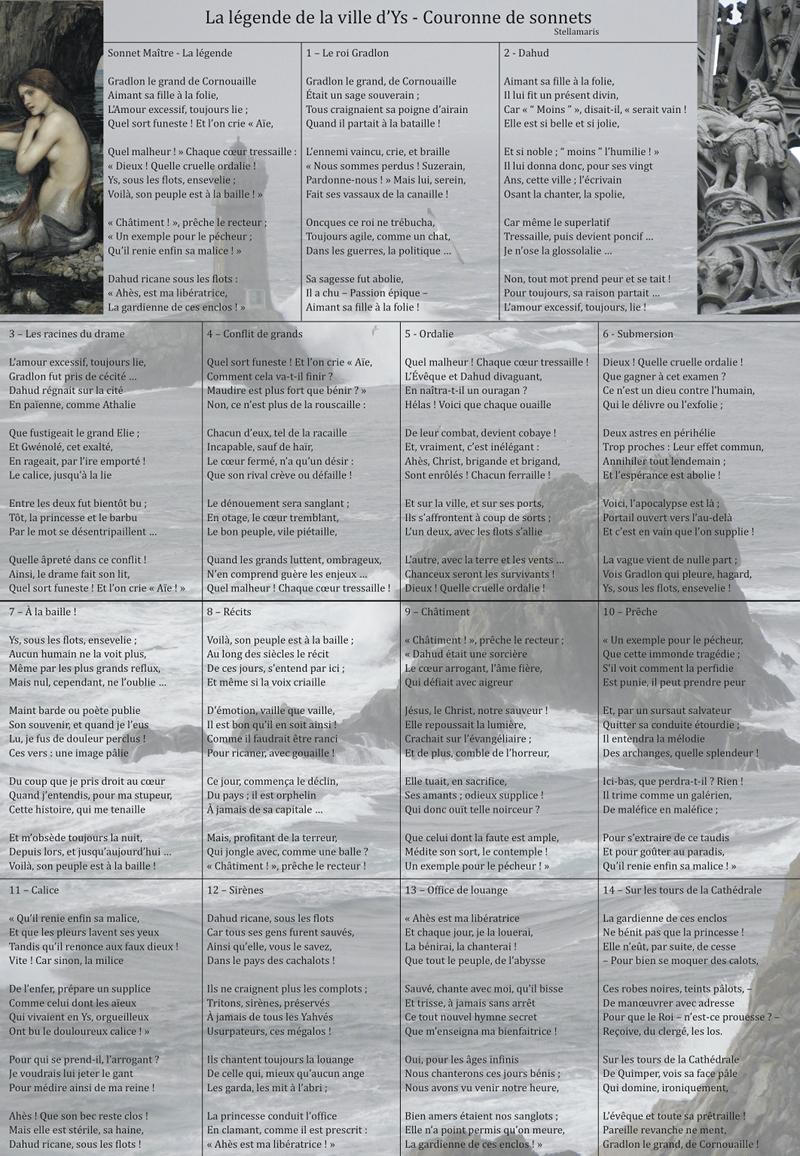 La l gende de la ville d 39 ys couronne de sonnets - Comment faire l amour tout nu dans le lit ...